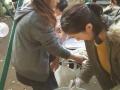 野川文化センター 風の子まつり 豚汁販売