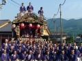 2015 鬼石夏祭り 三杉町の皆様