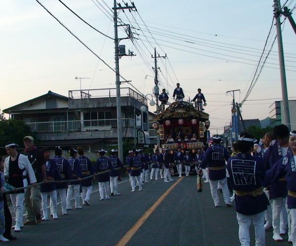 2015 鬼石夏祭り 三杉町