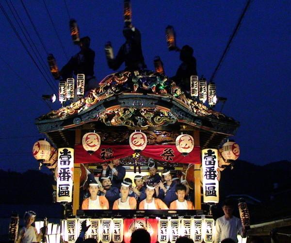 2015 鬼石夏祭り風景